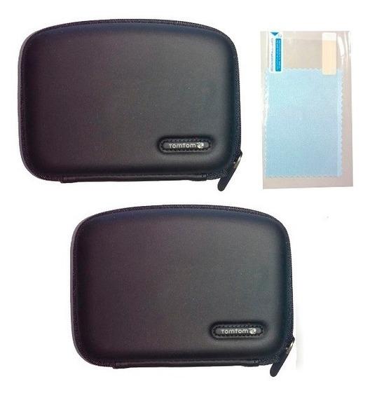 Kit 2 Capas Case Para Gps De 4.3 Polegadas Brinde 1 Película