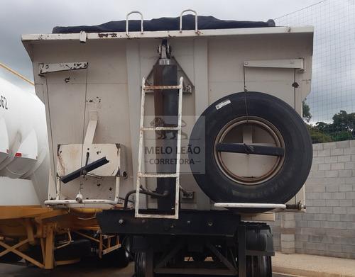 Carreta Librelato Bi Trem Carga Seca 3 Eixos 25m³ - Ano 09
