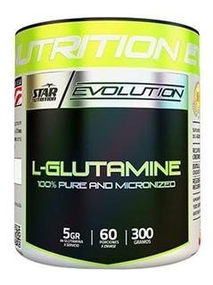 Glutamina Star 300 Grs Star Nutrition Recuperador