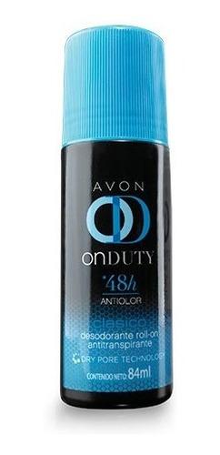 Desodorante Roll-on Antitranspirante Avon On Duty Classic