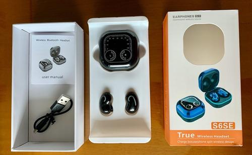 Imagen 1 de 10 de Audífonos Inalámbricos Touch Bluetooth Micrófono