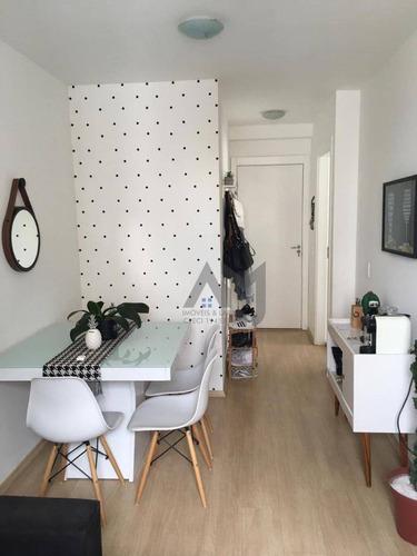 Apartamento Com 2 Dormitórios À Venda, 43 M² Por R$ 360.000,00 - Belenzinho - São Paulo/sp - Ap0138