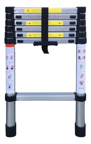 000 Escalera Plegable 12 Pelda/ños Aleaci/ón de Aluminio para Uso Dom/éstico