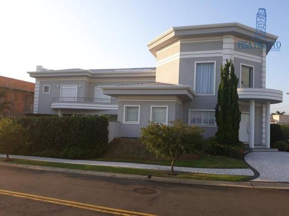 Imóvel Em Condomínio C/ 04 Dormitórios Sendo 04 Suítes, 03 Suítes Com Closet, Ar Condicionado, Área Gourmet, Piscina, Imóvel Totalmente Planejado. - Ca2112