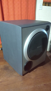 Subwoofer Activo Sony De 100w Rms