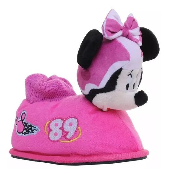 Pantuflas Addnice Disney Minnie Nena Original Fty Calzados