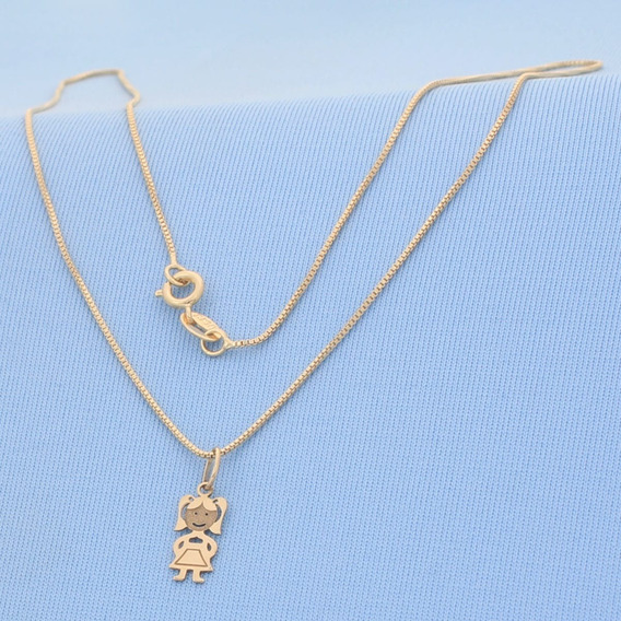 Corrente Veneziana Ouro 18 K 45 Cm 10005