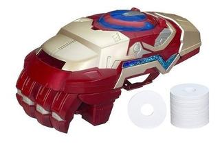 Marvel Iron Man 3 Motorizado Arco Fx Guantelete!