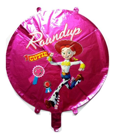 Toy Story Vaquerita Jessie Princesa 1 Globo Metalizado 45 Cm