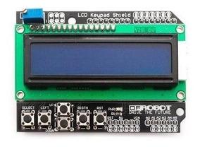 Display Lcd 16x2 Shield Com Teclado Para Arduino