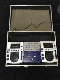 Cdj200s Pioneer (par) + Mixer Numark + Case (estojo)