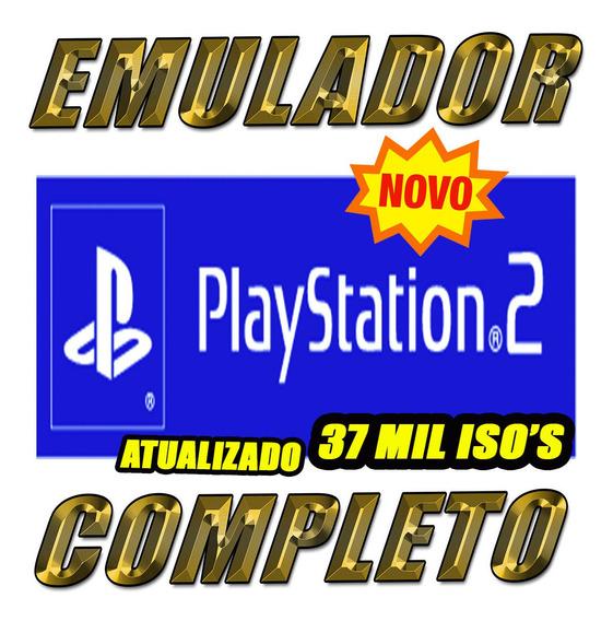 Emulador Ps2 Pc No Hd 3 Tb Usb C/37 Mil Jogos P/ Tds Windows