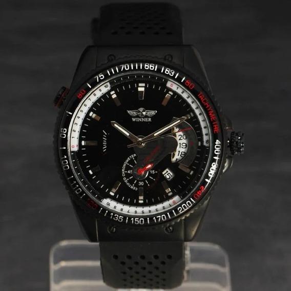Relógio Masculino Winner Silicone
