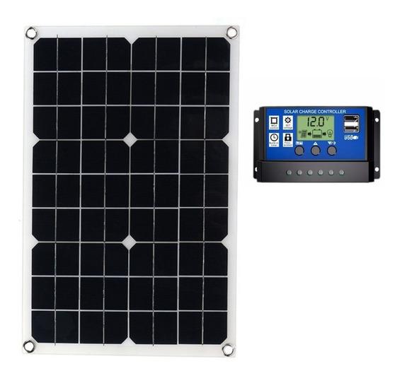 Kit Painel Placa Célula Energia Solar Fotovoltaica 20 Watts