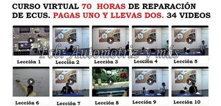 Curso Virtual Reparación De Ecus 70 Horas 34 Capitulos