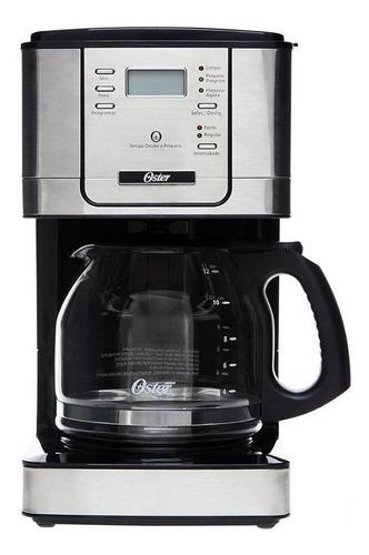 Imagen 1 de 5 de Cafetera Oster Flavor BVSTDC4401 automática negra y plata de filtro 220V