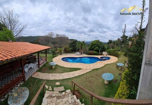 Chácara Com 5 Dormitórios À Venda, 2300 M² Por R$ 689.000,00 - Pirucaia - Mairiporã/sp - Ch0001