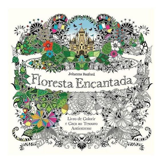 Livro De Colorir Floresta Encantada Ed. Sextante 21984