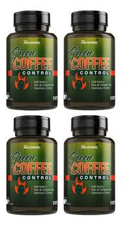 Green Coffee Control Café Verde - 4x 60 Cápsulas - Melcoprol