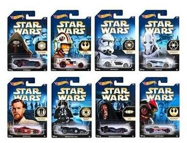 Hotwheels Star Wars 1/64 (8 Carrinho)