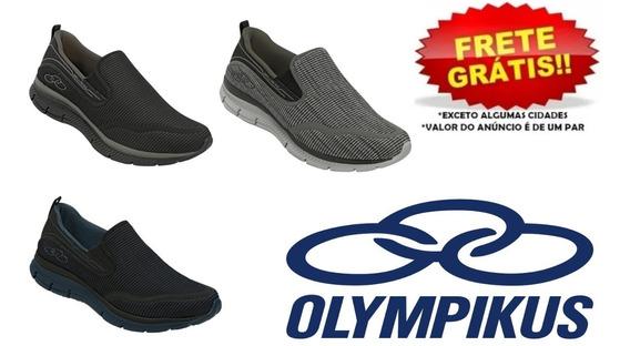 Tênis Olympikus Wellness 322 E Urban Masculino Palmilha Feetpad Conforto Caminhada Original Nota Fiscal Loja Astralshoes