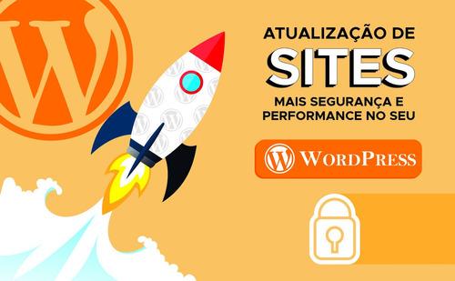 Imagem 1 de 1 de Atualização De Wordpress - Pacote Básico