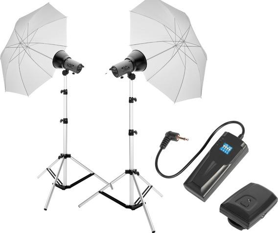 Kit Iluminação Para Estúdio Fotográfico 110/220