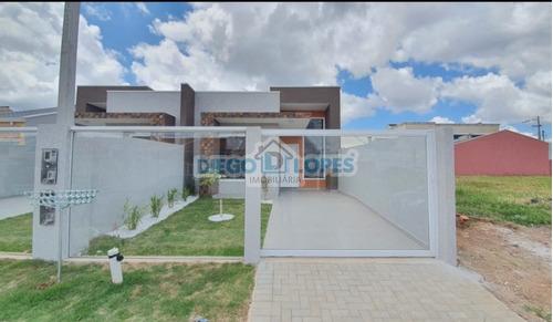 Casa Nova Em Eucaliptos - Fazenda Rio Grande, Pr - 1117