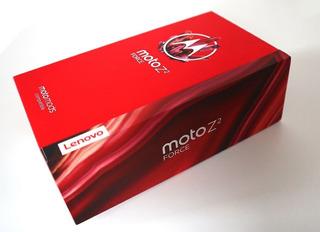 Motorola Z2 Force 64gb 12+12mp Novo Na Caixa Lacrado + Snap
