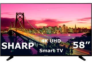 Pantalla Sharp 58 Smart Tv 4k Ultra Hd Lc-58q7330u