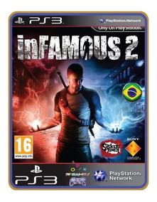 Infamous 2 - Português Br - Mídia Digital - Psn Ps3