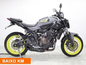 Yamaha Mt 07 Abs 2018 Cinza
