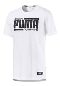 Camisa Puma Athetics Tee White - Original