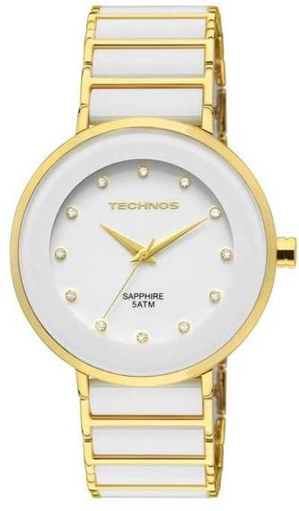 Relógio Technos Feminino De Cerâmica E Safira 2035lmm/4b