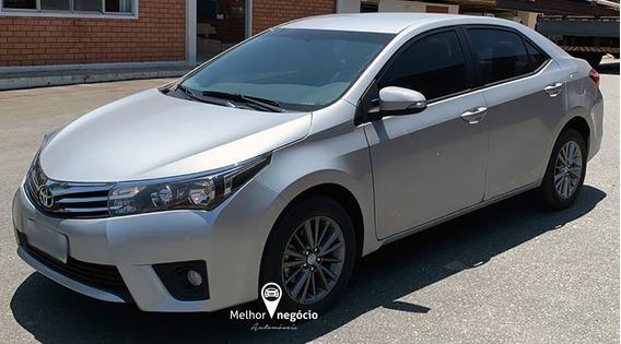Toyota Corolla Xei 2.0 16v Flex Aut. 2017 Prata