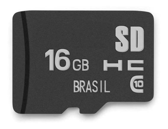 Cartão De Memória Classe 10 16gb Multilaser Micro Sd Mc143