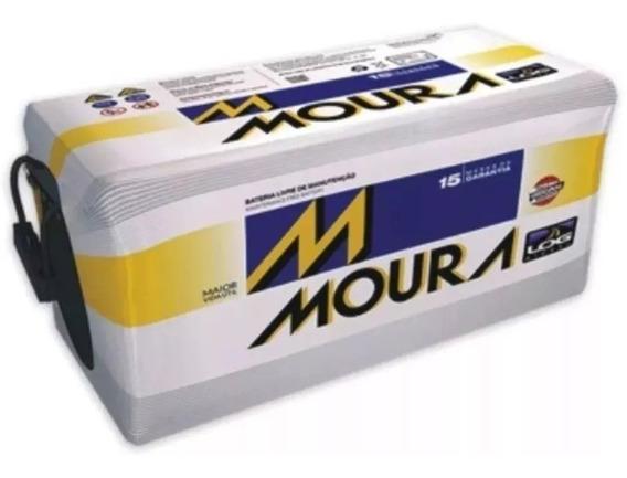 Moura 150 Amperes - Bateria 15 Meses De Garantia