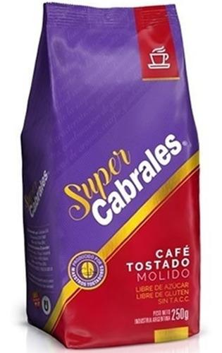 Imagen 1 de 7 de Cafe Molido Super Cabrales 520gr Tostado