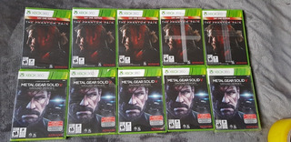 Metal Gear Solid V Colección Para Xbox 360