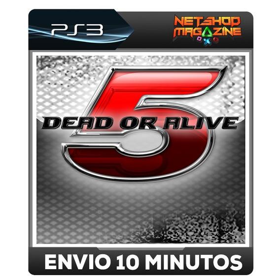 Dead Or Alive 5 - Psn Ps3 - Envio Imediato