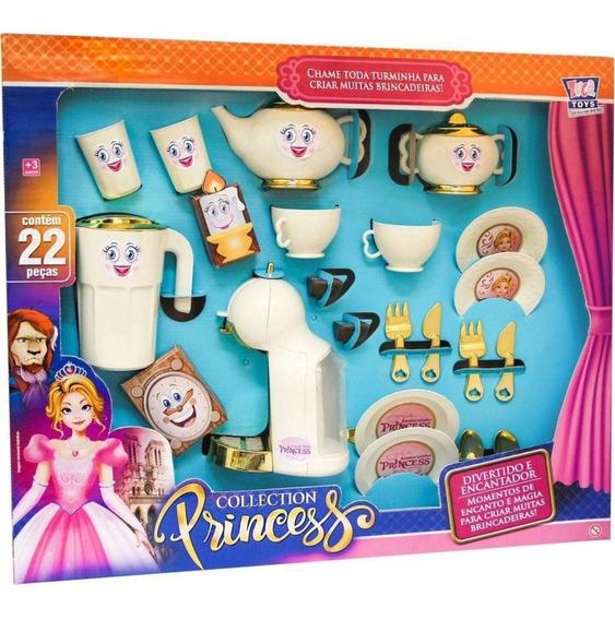 Show De Chazinho Da Princesa Bela E A Fera 7640-zuca Toys