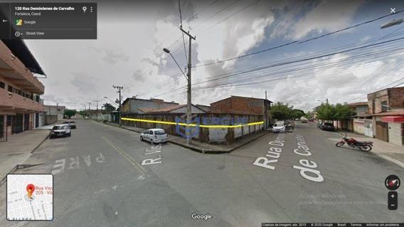 Terreno À Venda, 508 M² Por R$ 900.000 - Vila Ellery - Fortaleza/ce - Te0141
