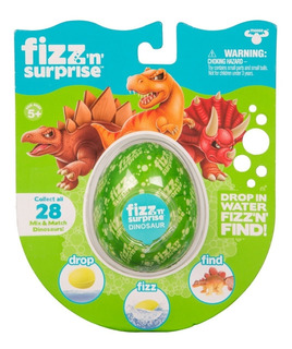 Fizz N Surprise Dinosaurio Figura Sorpresa Jyj19097 Full