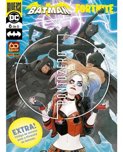 Imagem 1 de 1 de Batman Fortnite Vol.6  Com Picareta Do Batman - Panini