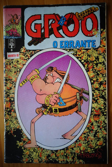 Revista Groo No 06 Sergio Aragonés Abril