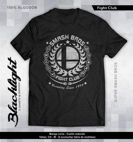 Playera Super Smash Bros Fight Club