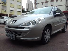 Peugeot 207 Xr 1.4 Flex 8v 3p 2013 Prata