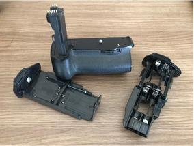Grip Bateria Canon 70d - Serve Para Pilhas