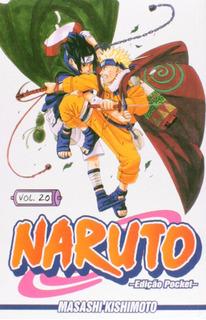 Manga Naruto Volume 20 Pocket - Panini Comics