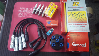 Cables + Bujias Ngk + Tapa + Rotor Ford Galaxy A Carburador